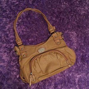 Rosetti chestnut handbag